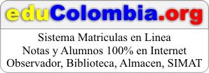 eduColombia, matriculas en linea, notas, calificaciones, boletines, simat 1290